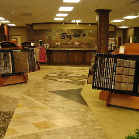 Come visit our Showroom at Bryan's Flooring in Oklahoma City, OK.